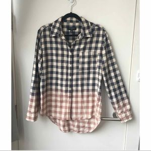 Urban Outfitters By Corpus Ombré Flannel